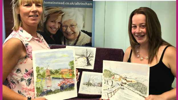 Seniors Benefit from Art Therapy.