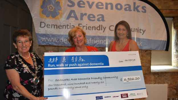Charity run raises record amount for local dementia services