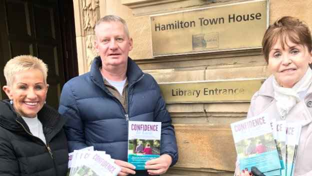 Dementia Book Donated to South Lanarkshire Libraries
