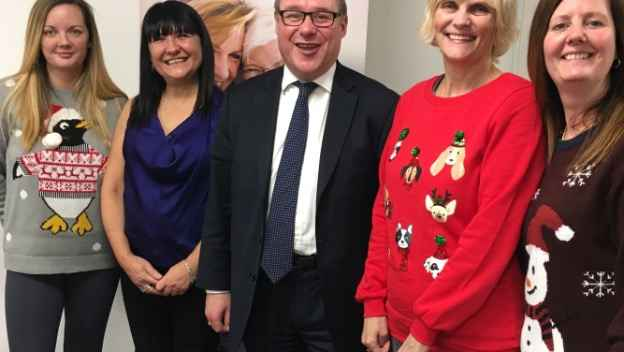 Local MP joins our Christmas Celebrations