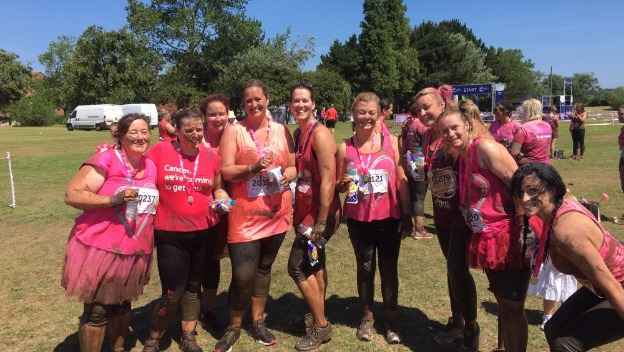 We Completed Pretty Muddy!