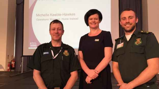 Working together with the South Western Ambulance Service