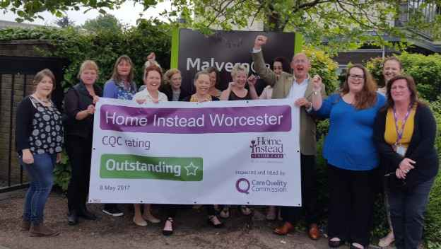 OUTSTANDING rating from CQC.