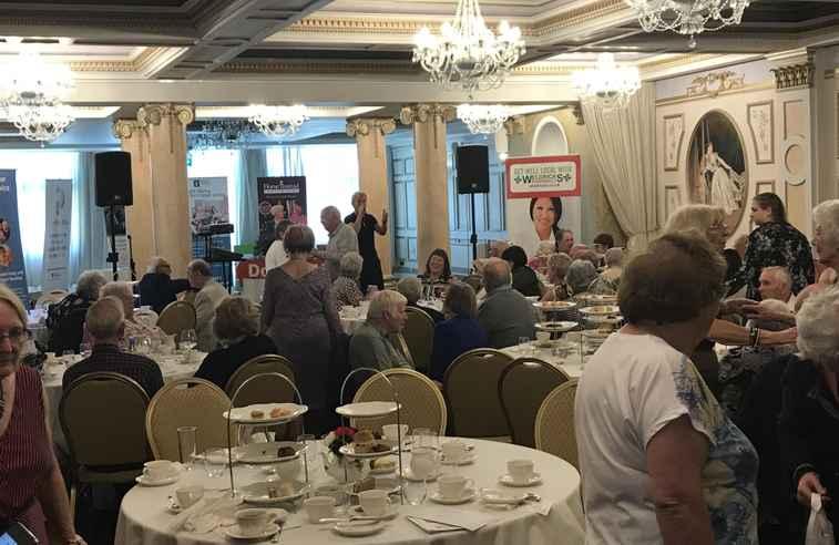 Afternoon Tea, Dementia, Rossington, Hall, Donmentia, Social Isolation