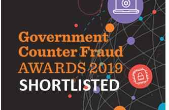 government counter fraud awards shortlisted