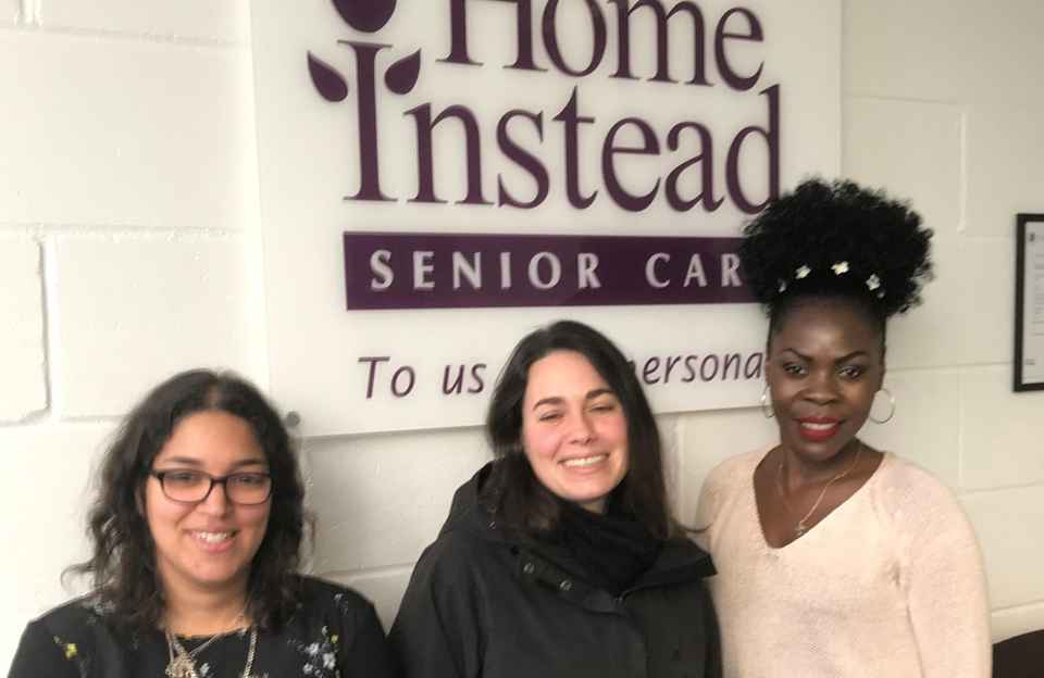 Tania and her Home Instead Care Team