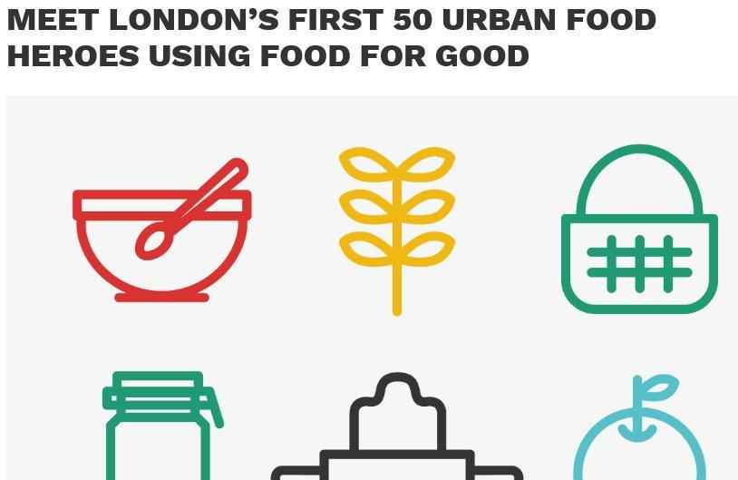 Top 50 Urban Food Heroes London