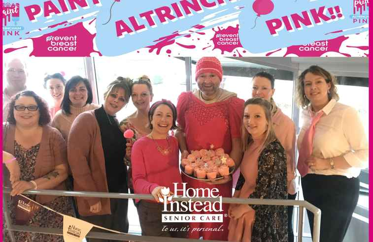 Home Instead turn pink to support Prevent Breast Cancer