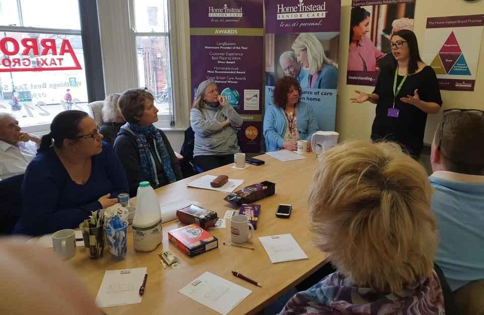 CAREGivers attend Dementia Friends Session