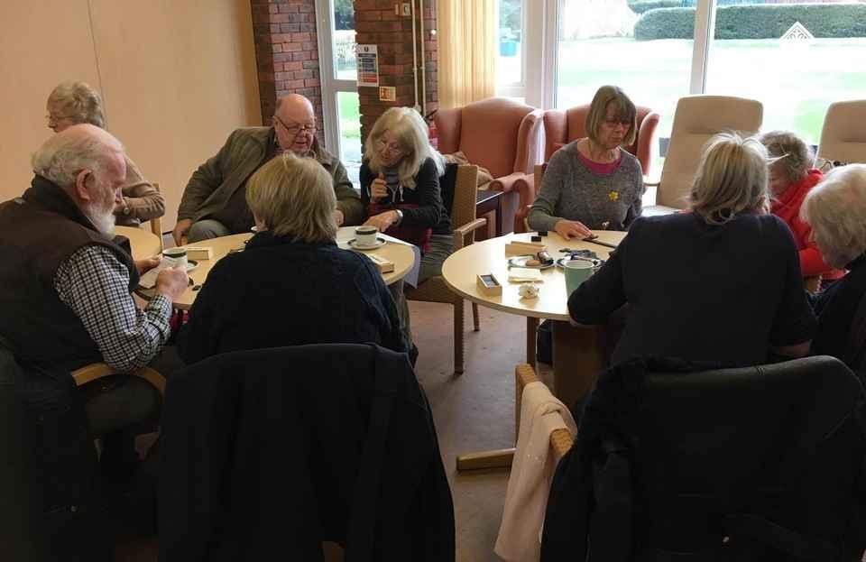 Dementia Cafe at Weybridge