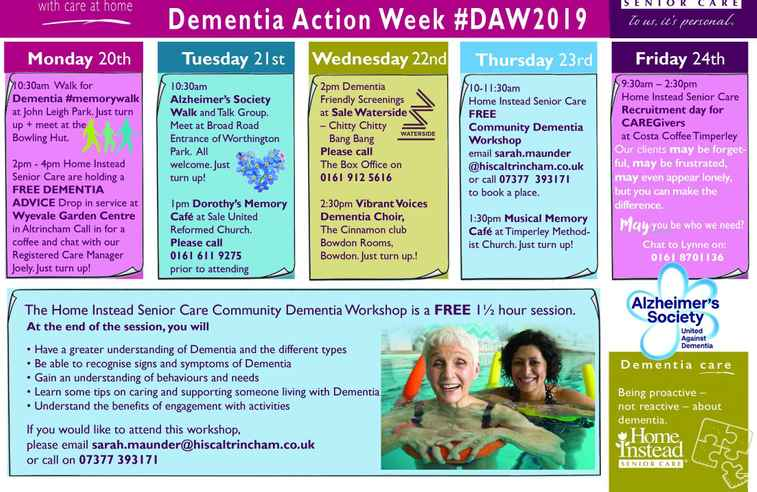 week of events for #DAW2019