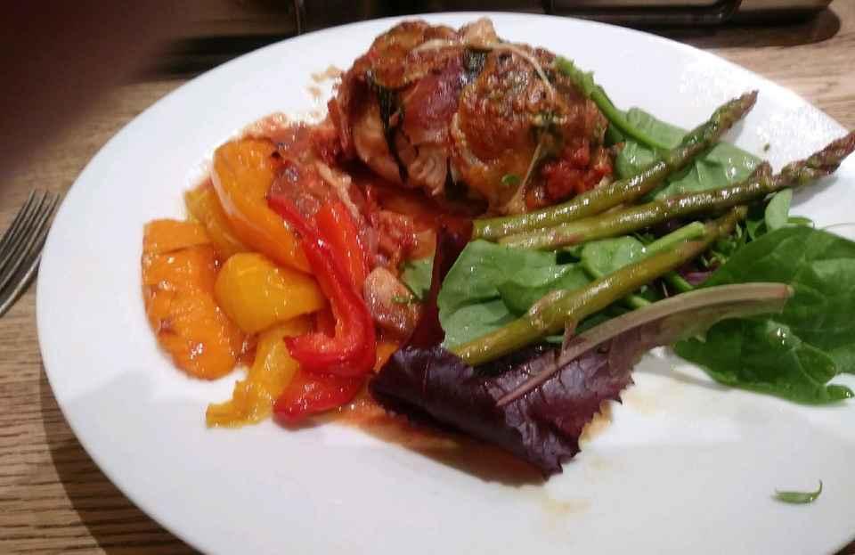 Kims Italian chicken