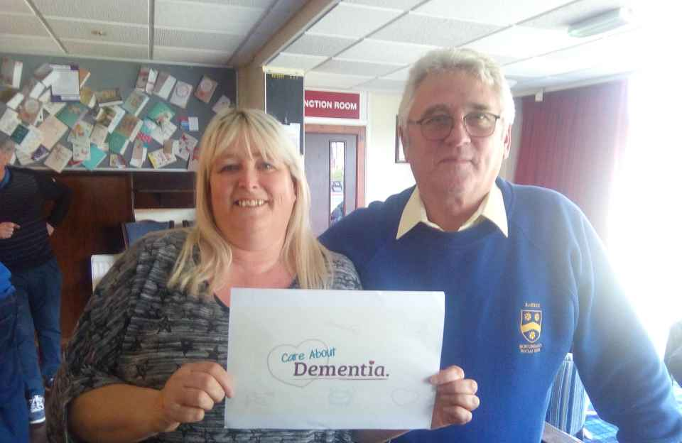 Dementia workshop Rastrick Bowling Club