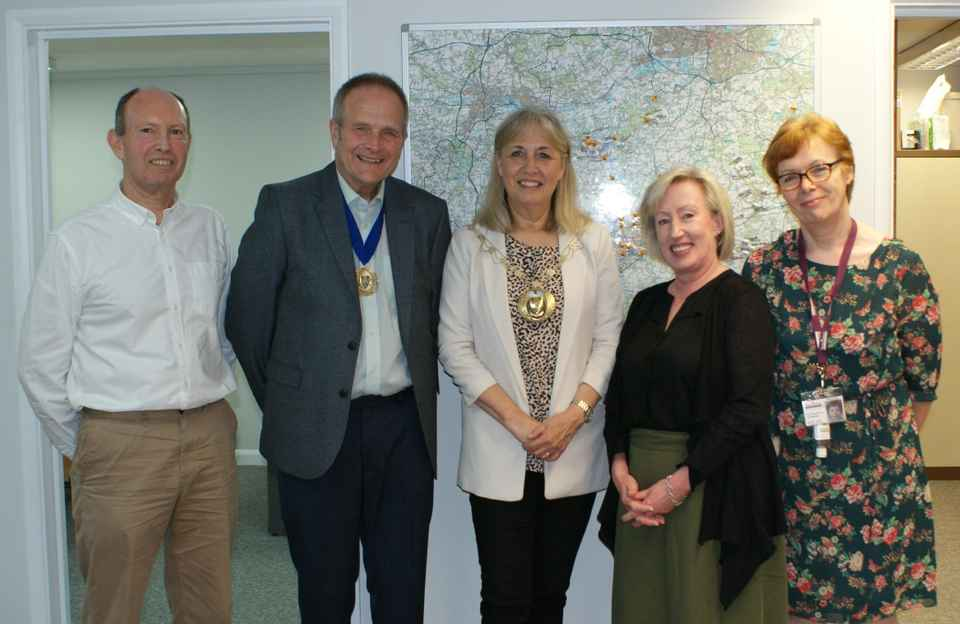 Mayor at Home Instead Basingstoke