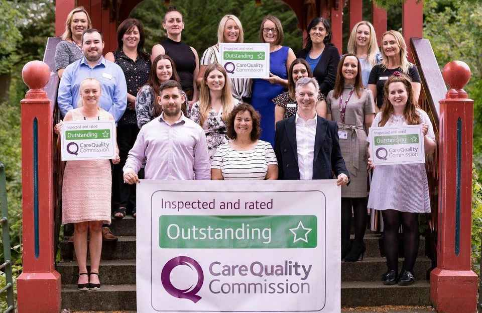 Wirral Outstanding CQC report