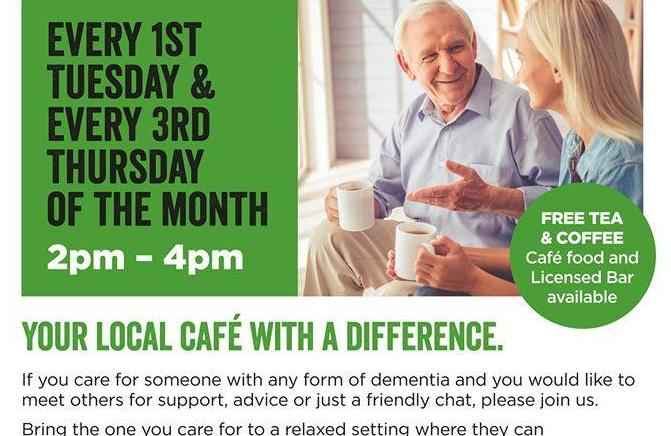 Come join us at the Memory Cafe