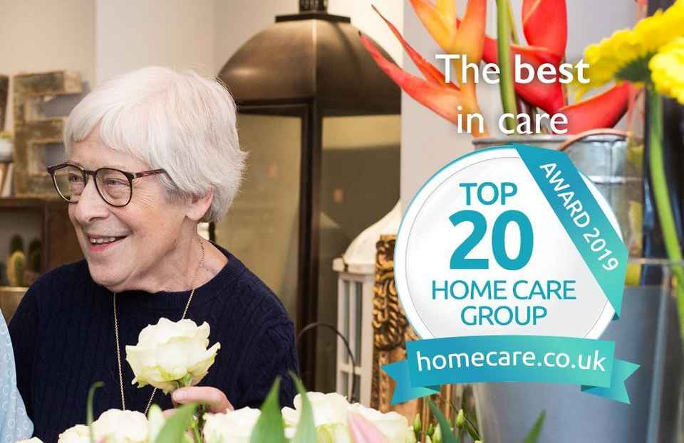 Home Care Top 20 National Badge