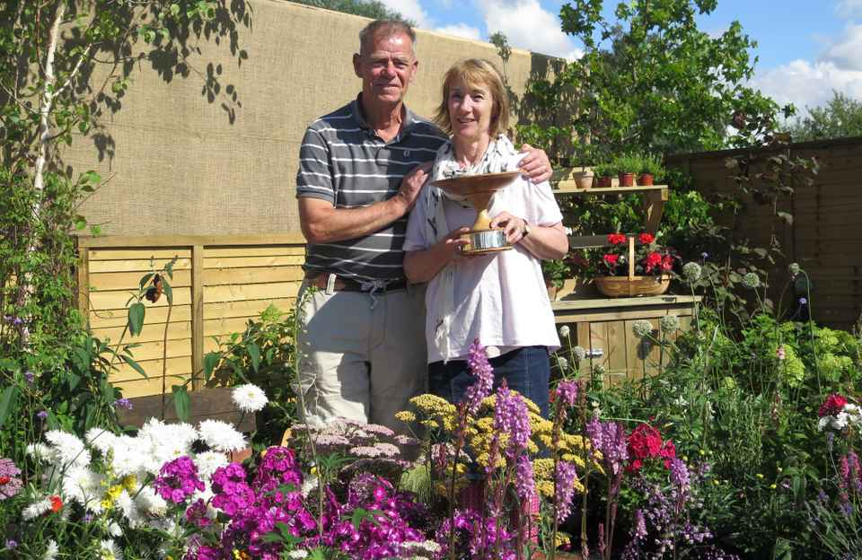 Dementia Friendly Garden wins 3 awards at Sandringham Flower Show