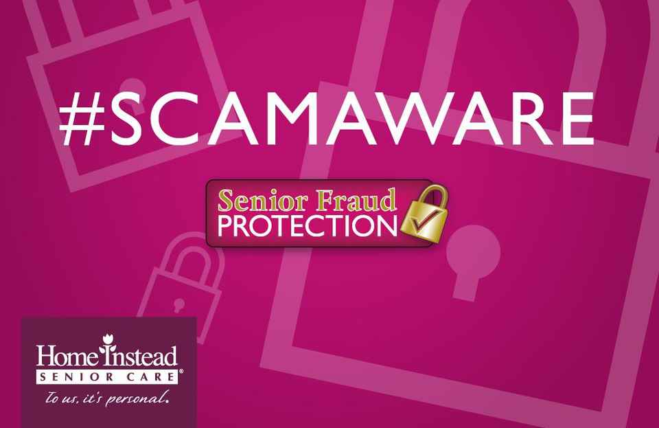 Scam Aware Senior Fraud Protection Logo