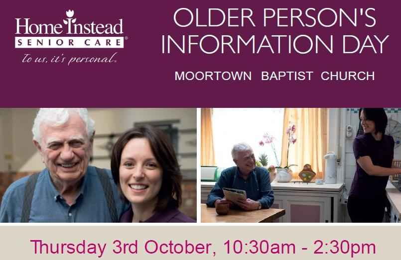 older people's information day poster