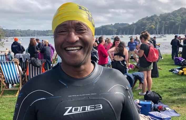 Tony Swims 10km for Dementia Research