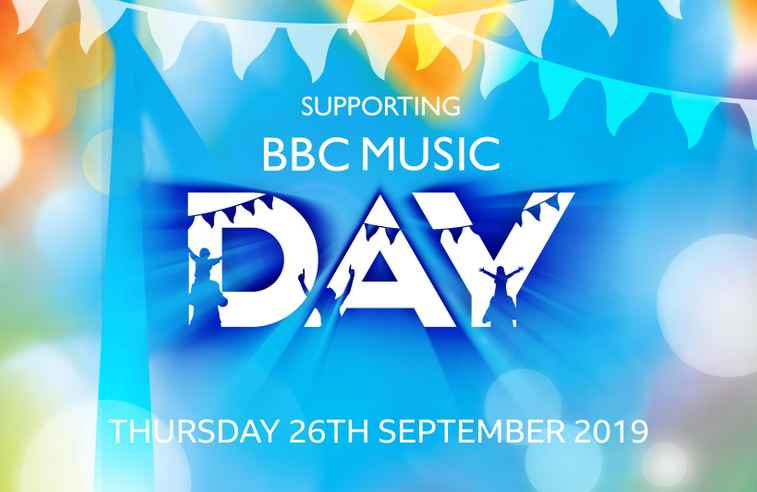 Supporting BBC Music Day Logo