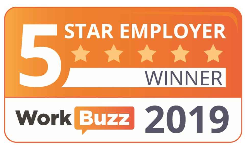 5 Star Employer Award 2019