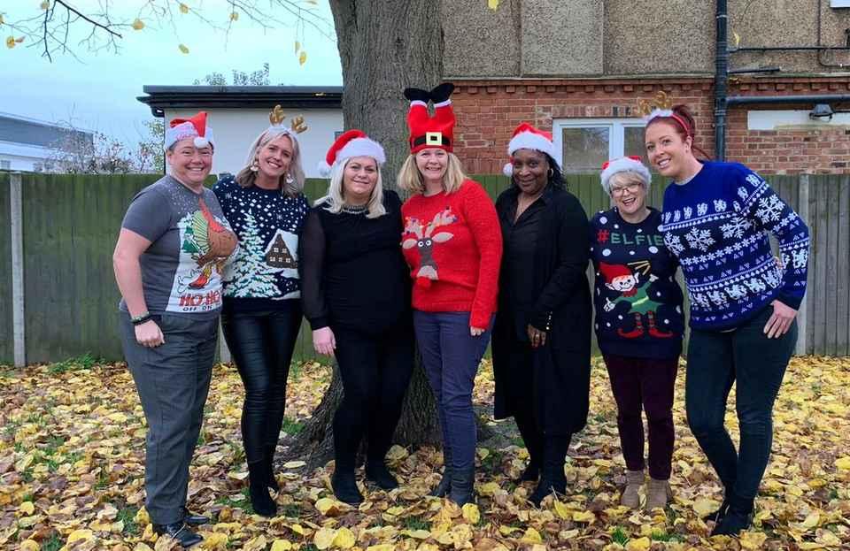 Home Instead Bromley team get into Christmas