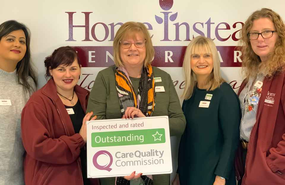 CQC Outstanding rated home care - all five areas