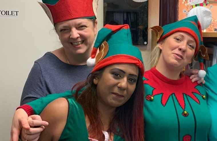 Well done to Santa's helpers