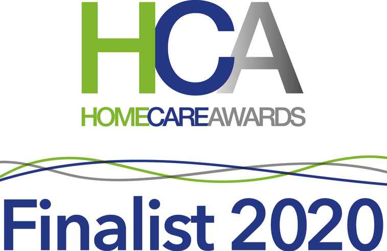 Home Care Awards Finalist 2020 logo