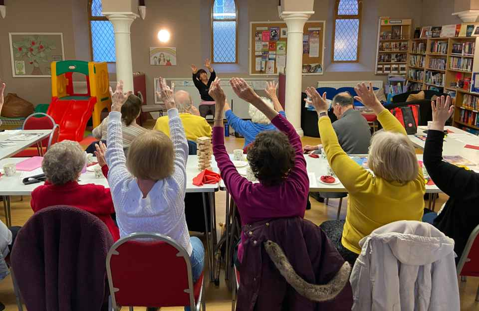 Dementia friendly activities Warsash Southampton
