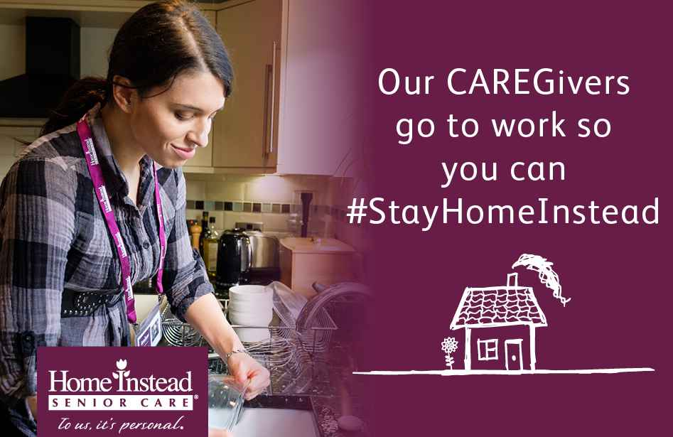 Our CAREGivers go to work so you can stay Home InsteadOur CAREGivers go to work so you can stay Home Instead