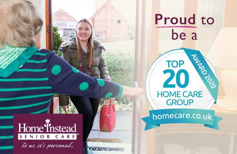Proud to be a homecare top 20 group