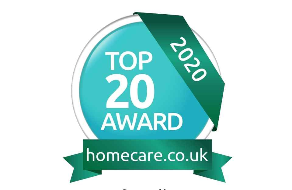 Homecare, Award, Barnsley, Top 20
