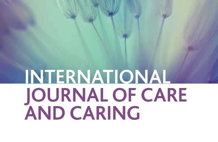 International journal of care and caring graphic
