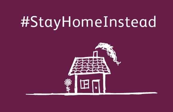#stayhomeinstead