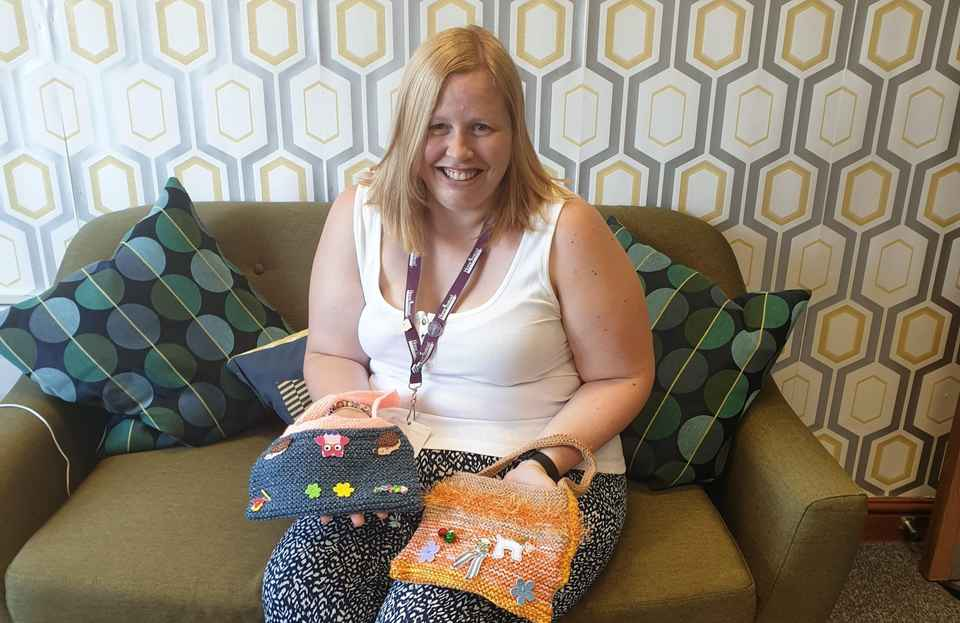 Twiddle Muffs donated from CAREGiver