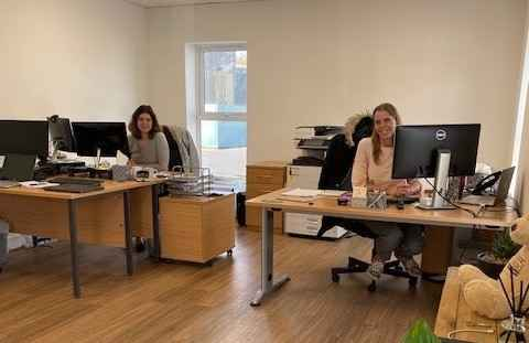 Care workers in Beverley office