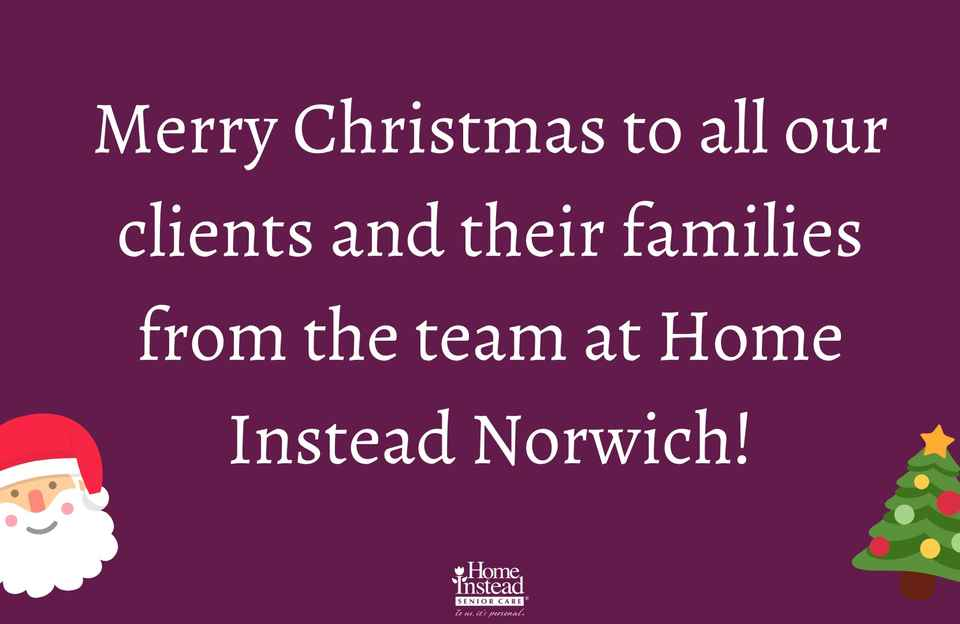 Merry Christmas from Home Instead Norwich